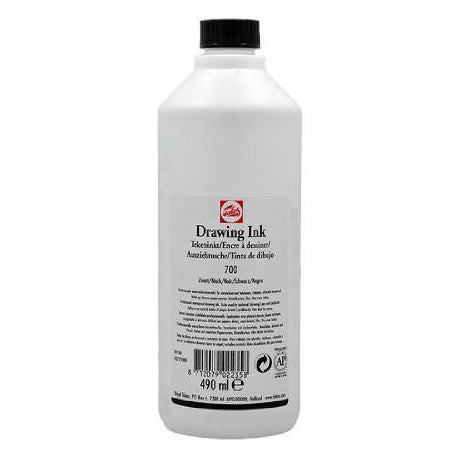 Talens Black (White Label) - 16oz. Bottle