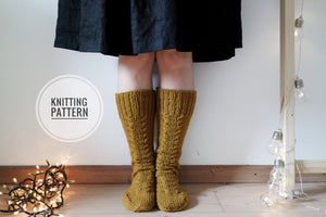 Autumn Goals Socks - Knitting Pattern