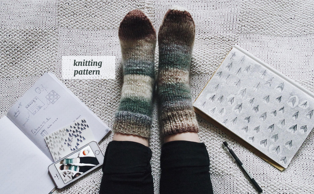 Forest Socks Pattern