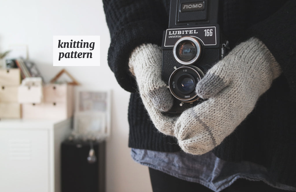 Simple Mittens Knitting Pattern