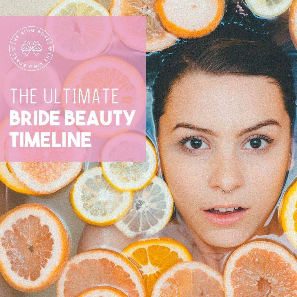 The Ultimate Bride Beauty Timeline