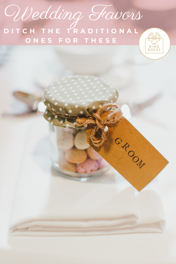 Ditch the Traditional Wedding Favors for These Instead