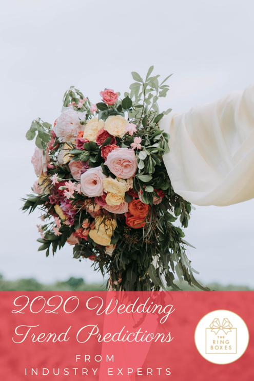 Now Trending: 2020 Wedding Trend Predictions from Industry Experts