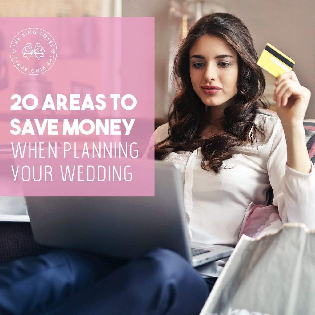20 Areas to Save Money When Planning Your Wedding