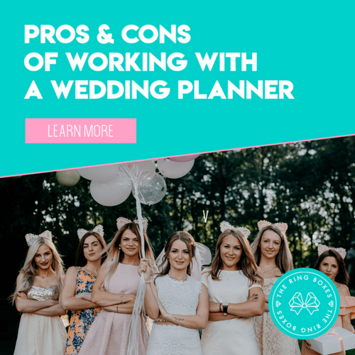 INFOGRAPHIC: Planning Your Own Wedding vs. Using a Wedding Planner
