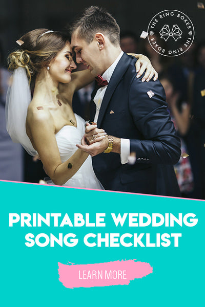 Free Wedding Songs Checklist