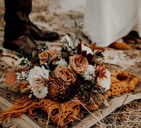 Incorporate dried flowers