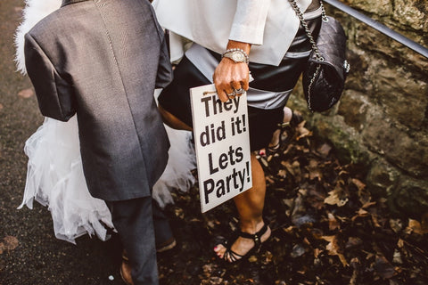 Now that you conquered contracts, go enjoy wedding planning