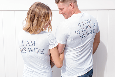 If Lost Couples Short Sleeve Set