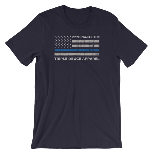 Thin Blue Line Flag T-Shirt