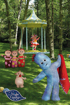 In The Night Garden Poster Iggle Piggle Kids Childrens Print Wall Art Large Maxi