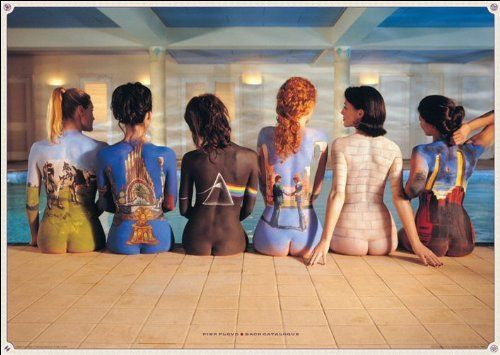 PINK FLOYD BACK CATALOGUE POSTER Album Cover Print Wall Art Large
