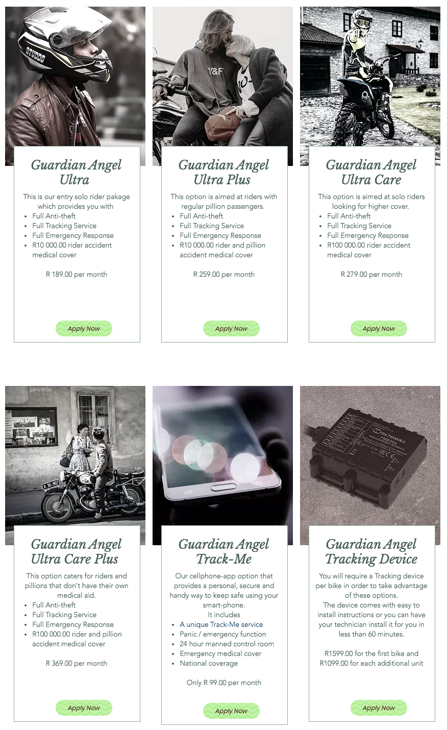 Guardian Angel Packages