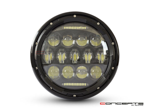 "7"" ""MAX LUMEN"" Multi Projector LED Headlight"