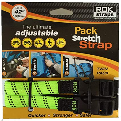 ROK Straps Green 2 Pack