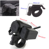 Waterproof 12V Cigarette Lighter Socket / USB Power Charger