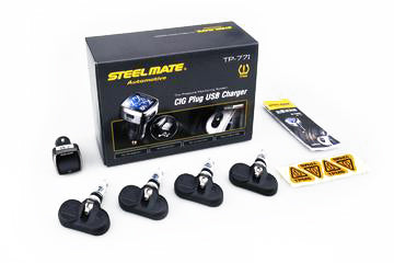 Steelmate TP-77i Cig Powered TPMS - Internal Sensor