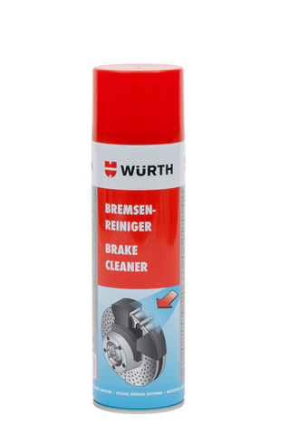WURTH BRAKE CLEANER SPRAY 500ML