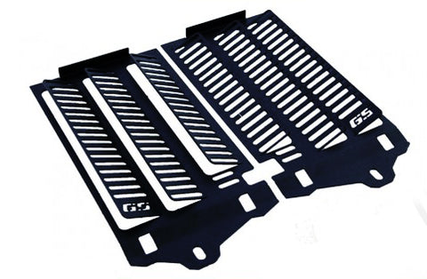 Black Radiator protector/guard for BMW R1200/1250GS & Adv LC