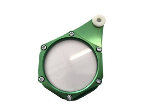 Aluminium License Disc Holder - Green