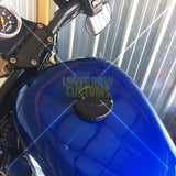 Lowbrow Customs Competition Gas Cap - 1996 & Up HD - Black
