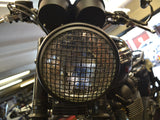 MAX 7.7 INCH Matte Black Large Mesh Grill Headlight