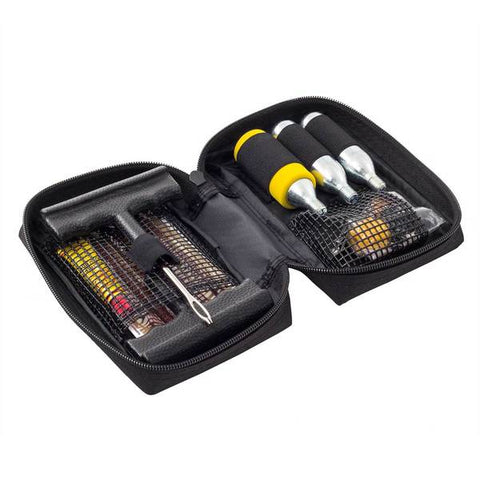 17 Piece Tyre Repair Kit with Storage Bag