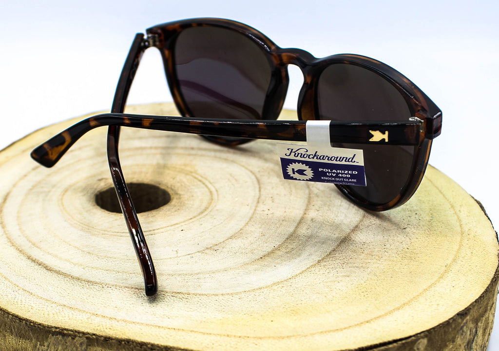 Glossy Tortoise Shell Polarized Sunglasses