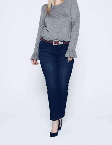 Kancan Abby Cropped Denim