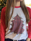 Holiday Tree Raglan
