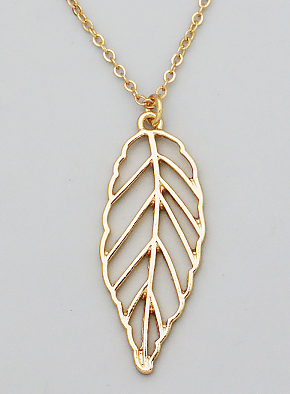Short Leaf Necklace