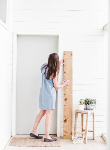 How To Install Your Growth Chart White Loft