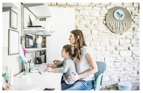 mom boss girly office take your daughter to work