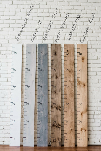 Wooden Growth Charts - wholesale