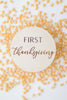 babys first thanksgiving milestone markers for new babies shower gift