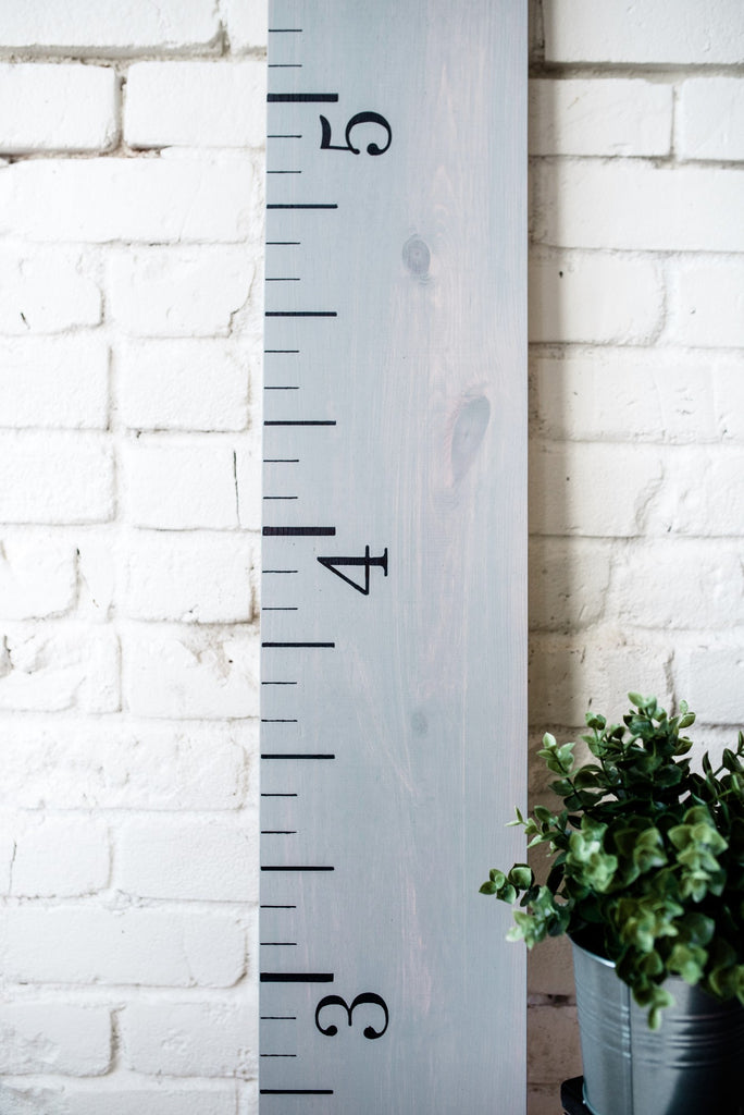 Greystone: Wooden Growth Chart - Promotional