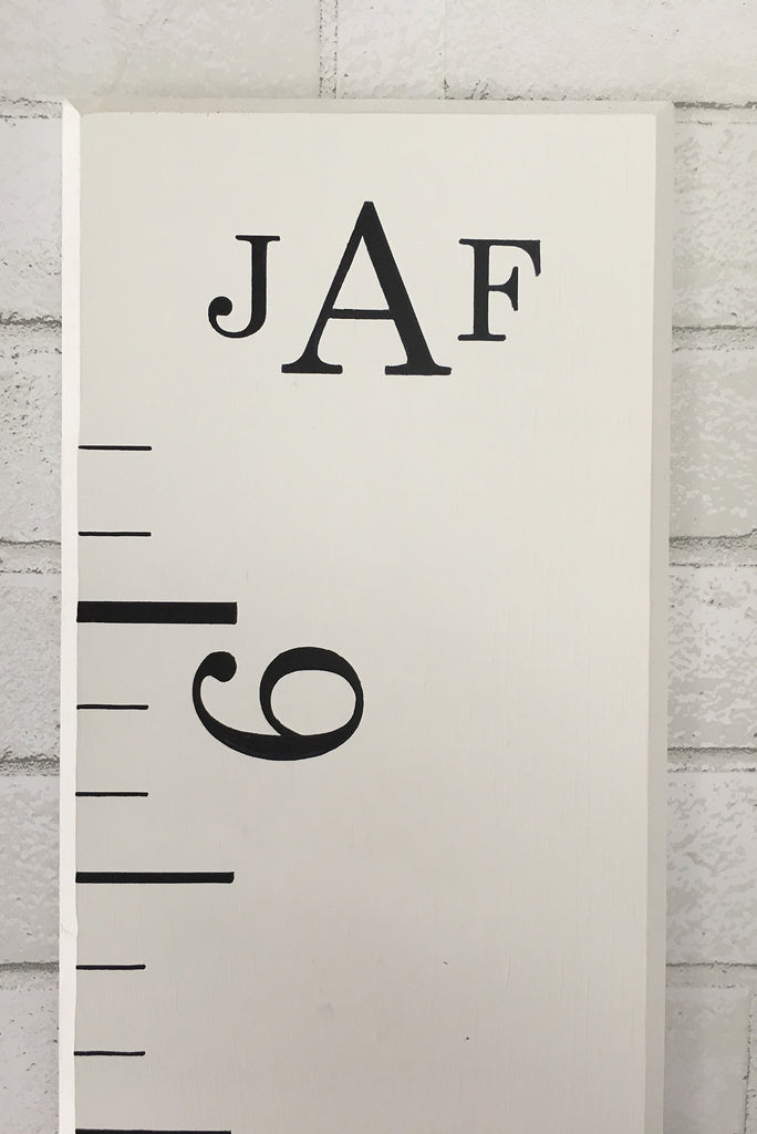Monogram Growth Chart - Promotional