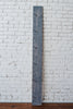 Weathered Gray: Wooden Growth Chart