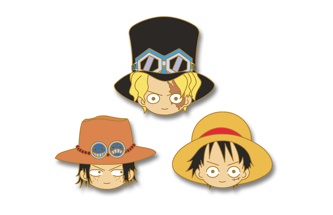 PINCHIBI SET#6: Luffy, Sabo & Ace