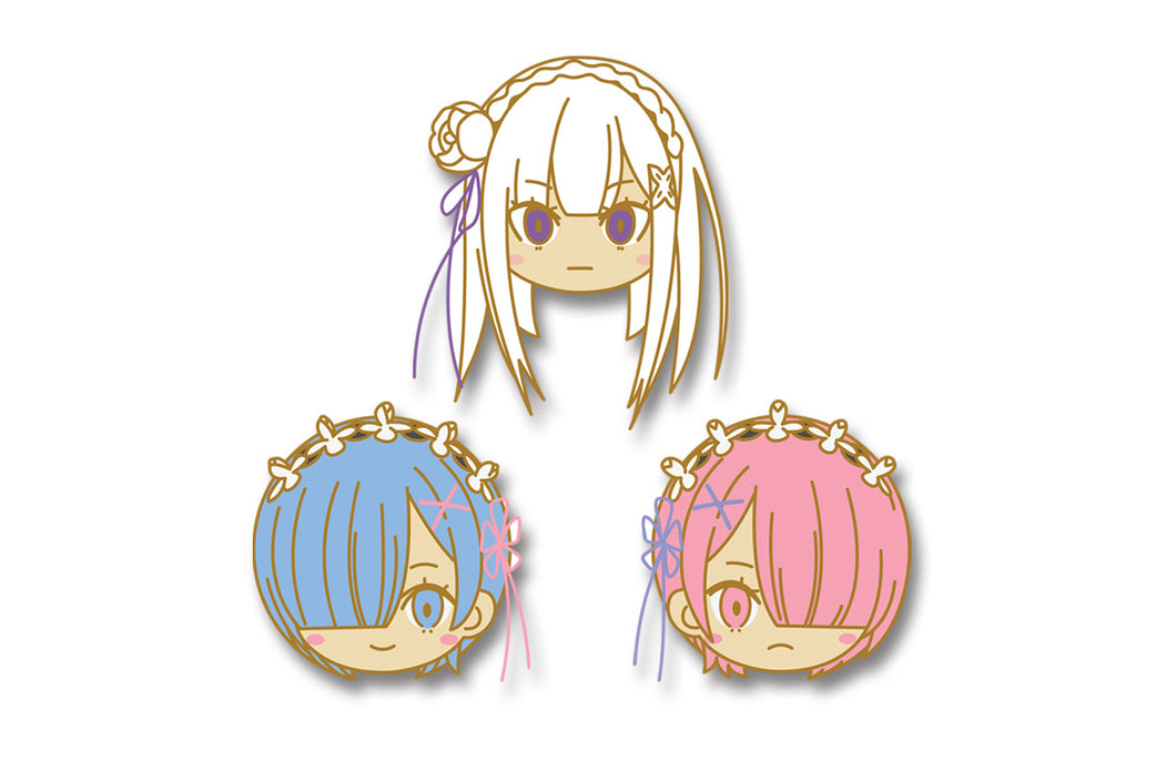 PINCHIBI SET#7: Rem, Ram & Emilia