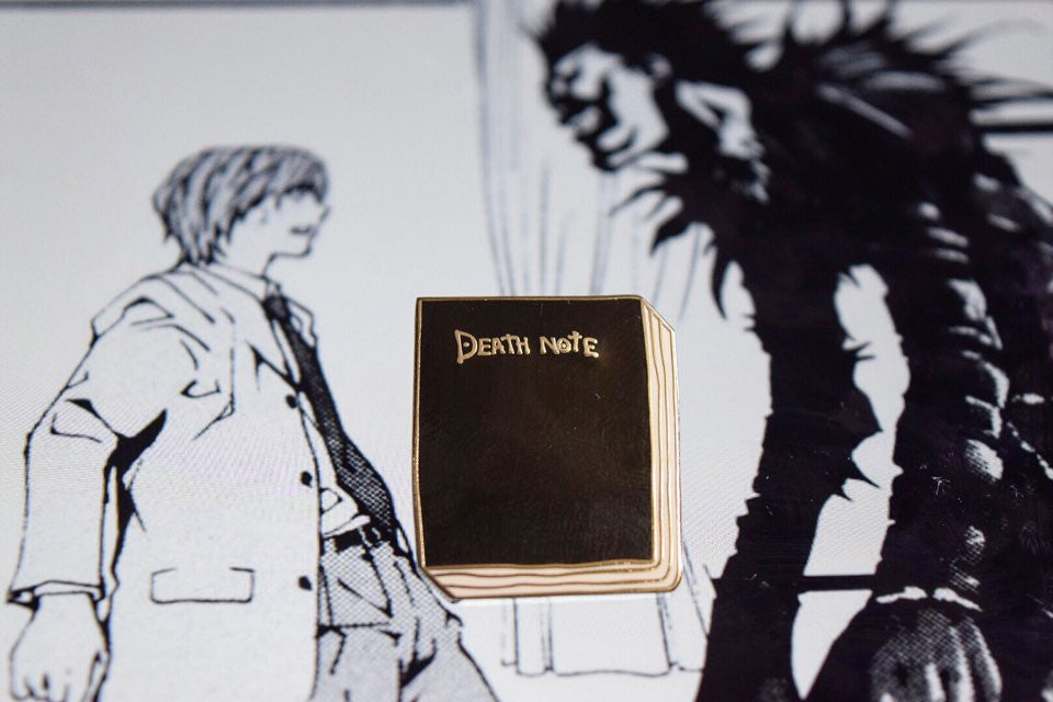 Death Note Pin  Otaku Pin Club
