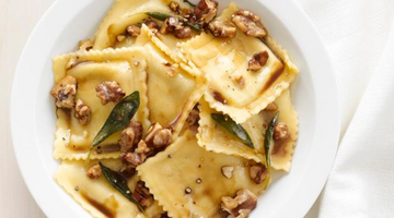 Luigi's Revenge Ravioli With Sage-Walnut Butter