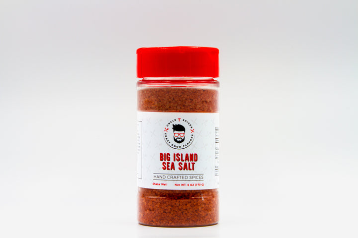 Big Island Sea Salt - Uncle T Spices