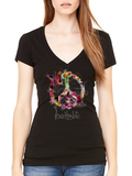 Love This Life Peace Manifesto Tissue V-Neck S/S In Black - lovethislifeshop.net - #lovethislife