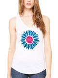 Love This Life LoveDaisy Manifesto Flowy Tank In White - lovethislifeshop.net - #lovethislife