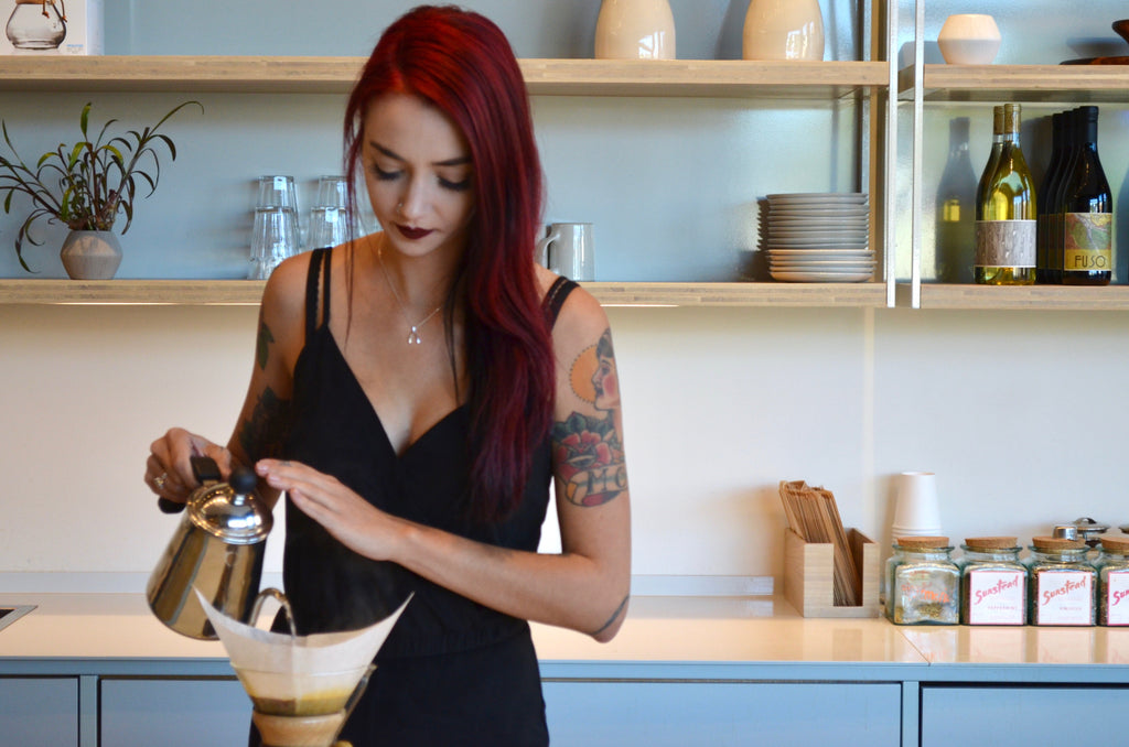Eden Marie: The perfect Chemex pourover