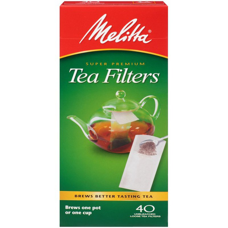 Melitta Tea Filters - Pack of 40