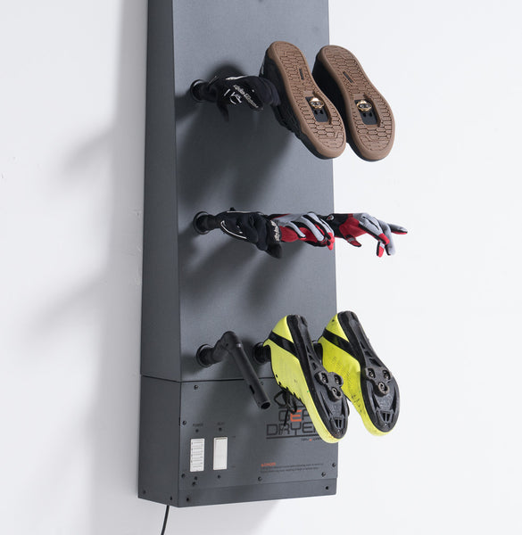 Dry Bike Shoes with the Wall Mount 12 GearDryer