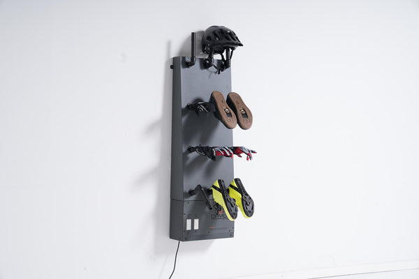 Dry Road and Mountain Biking Gear with the Wall Mount 12 Boot Dryer