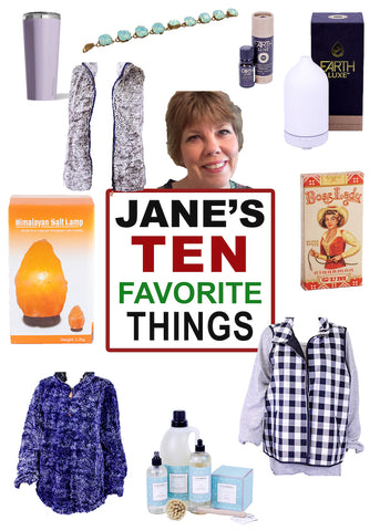 Jane's Favorite Things List